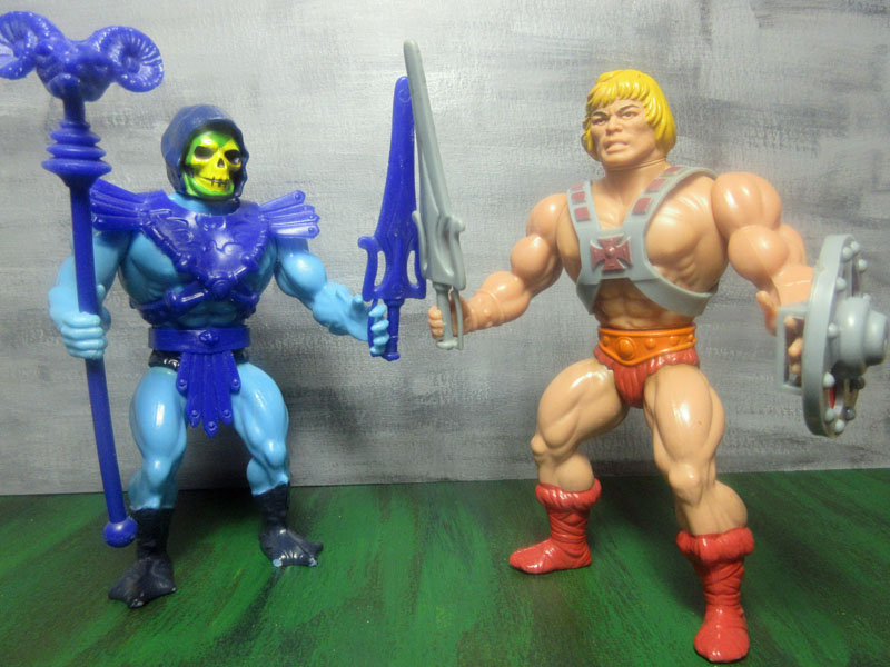 masters of the universe skeletor und He-Man