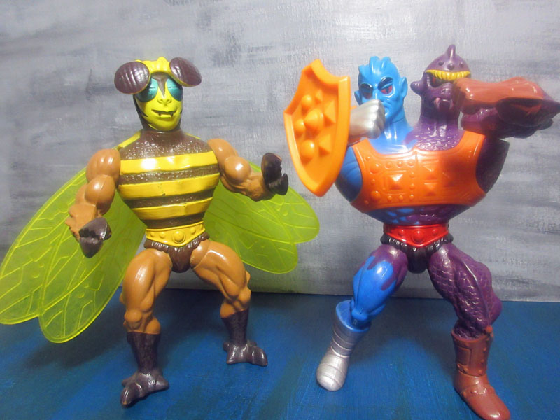 masters of the universe buzz-off und two bad